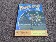 Everton v West Ham United, 1984/85